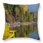 Time Well Wasted II Throw Pillow