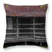 Time Worn Homestead Throw Pillow