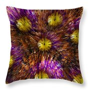 Timebender Throw Pillow