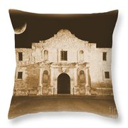 Timeless Alamo Throw Pillow