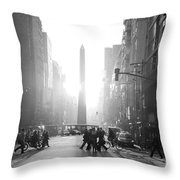 Timeless Buenos Aires Throw Pillow