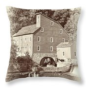 Timeless-clinton Mill N.j.  Throw Pillow
