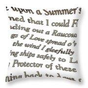 Timeless Dream 2 Throw Pillow