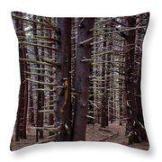Timeless Forest Throw Pillow