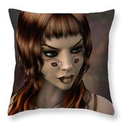 Timeless Grace Throw Pillow