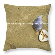 Timeless Nature Quote Throw Pillow