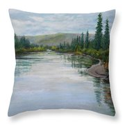 Timeless Tanquility IIi Throw Pillow