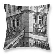Timeless Tower Throw Pillow