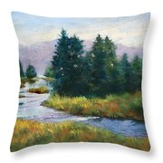 Timeless Tranquility II Throw Pillow