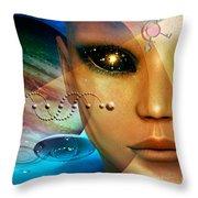Timeless Traveller Throw Pillow