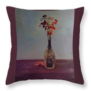 Lingering Throw Pillow by J Reynolds Dail