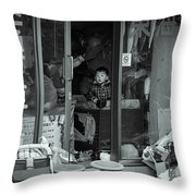 Times Don't Change Throw Pillow