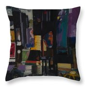 Times Square Crossing Throw Pillow