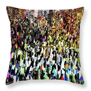 Times Square New Year's Eve Throw Pillow