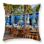 Times Square Of Ft Myers Throw Pillow