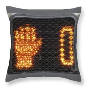 Times Up Throw Pillow