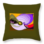 Timespiral Throw Pillow