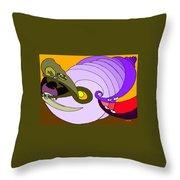 Timespiral Throw Pillow