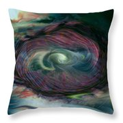 Timewarp Throw Pillow