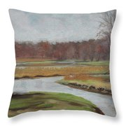Timm's Meadow Throw Pillow