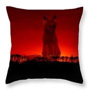 Timmys Sunset Throw Pillow