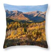 Timpanogos Autumn Sunrise Throw Pillow
