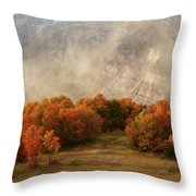 Timpanogos Veiled Throw Pillow
