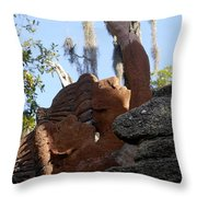 Timucuans Throw Pillow