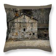 Tin Cup Chalice Rustic Barn Throw Pillow