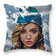 Tinashe Throw Pillow