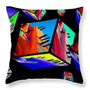 Tinbuck3 Throw Pillow