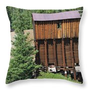 Tincup History 5 Throw Pillow