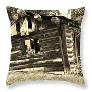 Tincup History Throw Pillow
