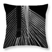 Ting Kau Bridge Hong Kong Throw Pillow