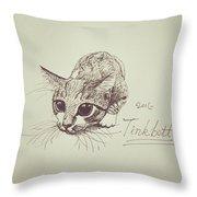 Tinkbott Throw Pillow