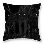 Tinker Bell Throw Pillow by Rob Hans