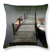 Tinmouth Pond Vermont Throw Pillow