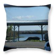 Tinsely Island Throw Pillow