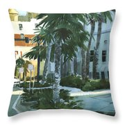 Tinson's Corner Throw Pillow