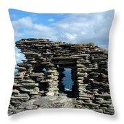 Tintagel Castle 3 Throw Pillow