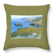 Tintagel Throw Pillow