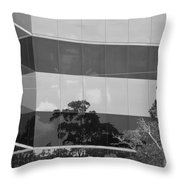 Tinted Glass Throw Pillow