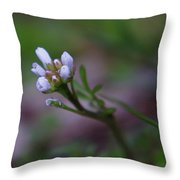 Tiny Beginnings Throw Pillow