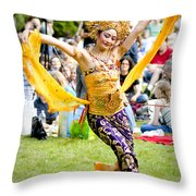 Tiny Dancer Throw Pillow