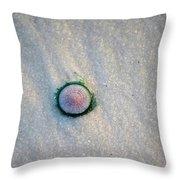 Tiny Jellyfish Throw Pillow
