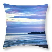 Guiding Light In The Distance Throw Pillow