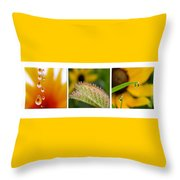 Tiny Miracles Throw Pillow