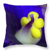 Tiny Pistil Throw Pillow