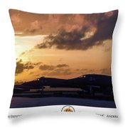 Tip Of The Spear Throw Pillow