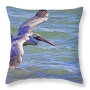 Tip Of The Wing Throw Pillow